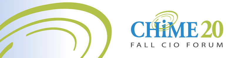 Chime 20 Fall CIO Forum logo