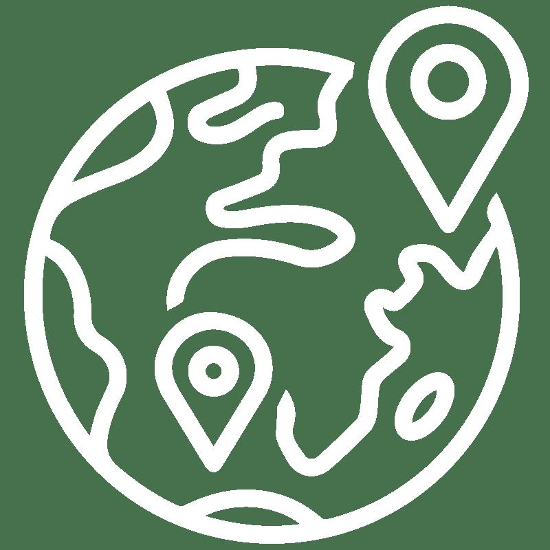 White Corporate Regional icon