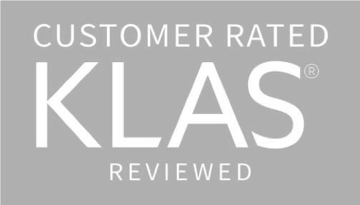 Customer Rated, KLAS Reviewed